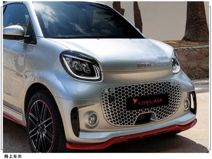 Smart特别版车型发布 红色运动包围/限量发售 北京车展发布新车型