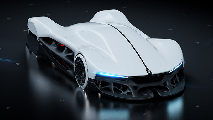 会呼吸的车 2080年的概念车会是什么样子-图1