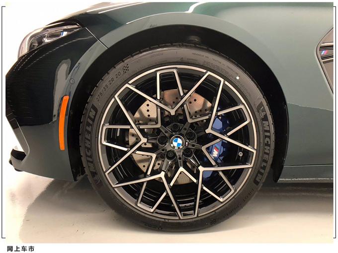 宝马全系最强车型实拍搭4.4T引擎/配双五星轮毂-图4