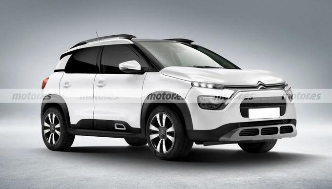 雪铁龙全新SUV效果图曝光搭1.5T引擎/外观更运动-图1