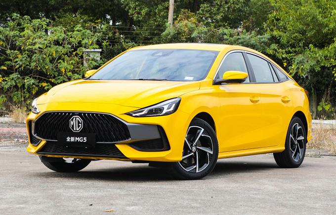 名爵5等低端车型成销量主力 MG品牌含金量降低-图1