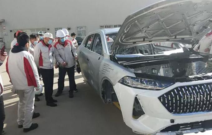 WEY大五座SUV摩卡即将量产下线4月份开启预售-图1