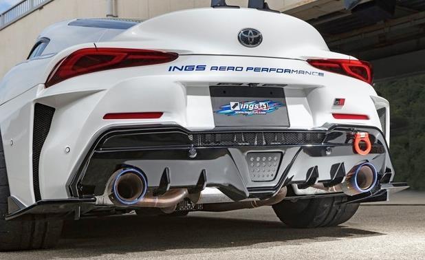 丰田Supra改装版实拍 外观夸张/最大可达520马力-图4