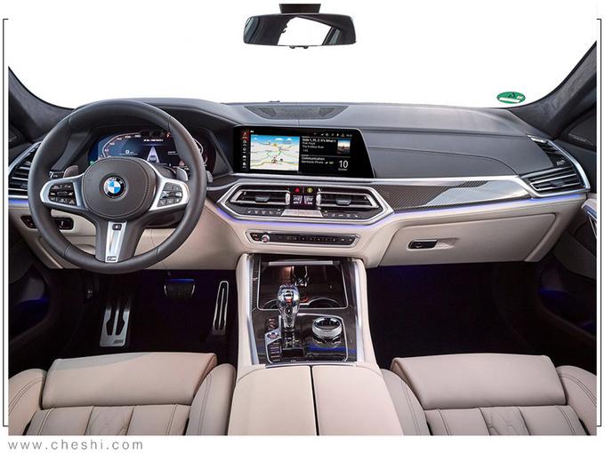 宝马全新一代X6上市 搭3.0T引擎居然还有这功能-图5
