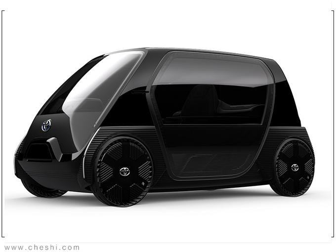丰田全新超小型EV曝光 比Smart还小/续航100公里-图3