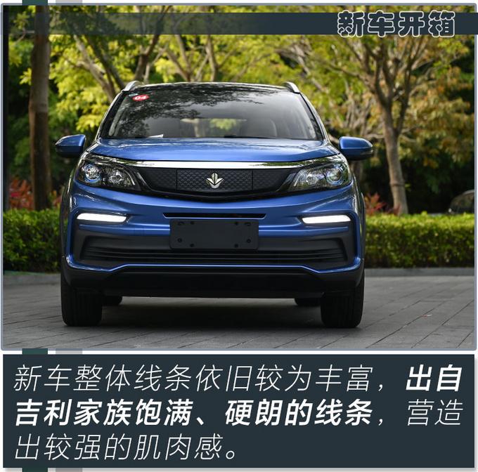 全新吉利新能源SUV不到7万就能买 还看啥比亚迪元-图8