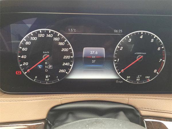 18款奔驰S450黑车棕内 125万享豪驾体验-图7
