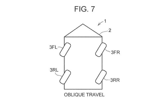 丰田全轮转向专利曝光横移停车原地旋转不是梦-图3