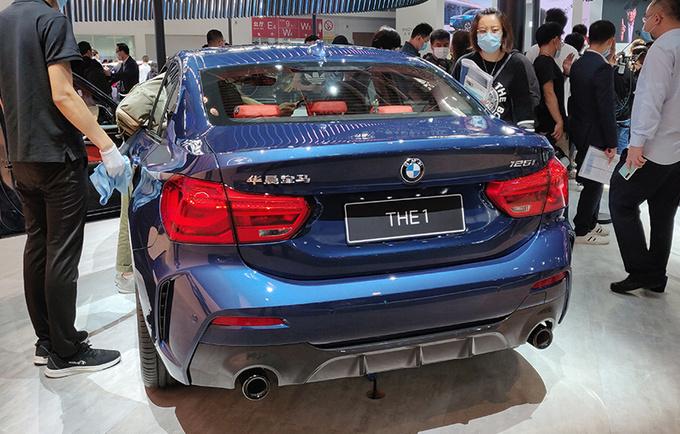 宝马1系三厢新增车型上市 售价20.38-24.68万元-图2