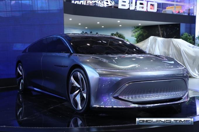 新品牌架构/产品升级 北汽集团北京车展主场SHOW-图3