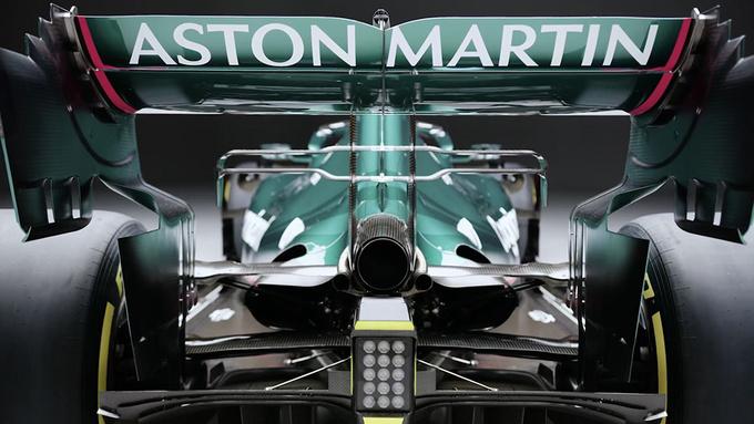 阿斯顿·马丁推出新款F1赛车深绿涂装/英伦气息-图4