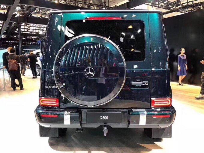 2019款奔驰G500新车上市 揭秘超凡越野王-图3