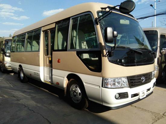 丰田考斯特15座客车新优惠 选装真皮座椅-图3