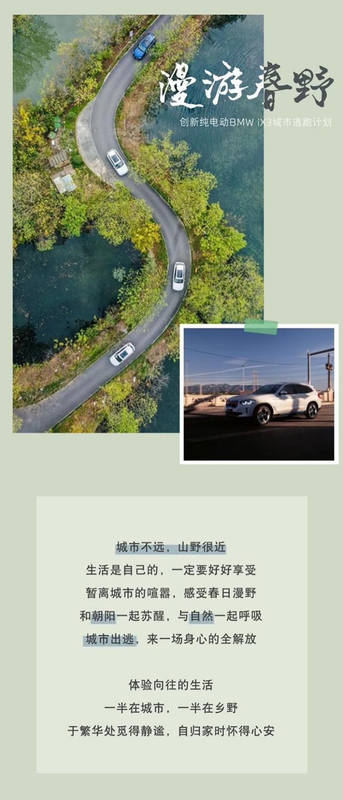 创新纯电动BMW iX3城市出逃计划,开启出行新时代!-图1