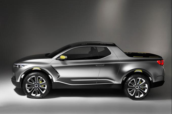 现代新皮卡明年投产搭载3.0T直列6缸柴油发动机-图3