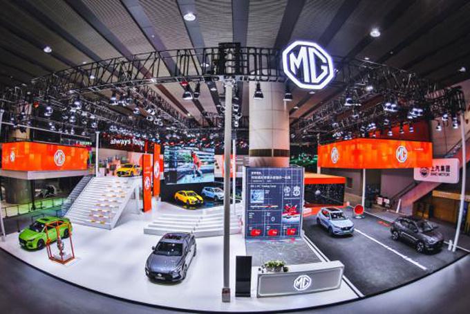广州车展 百年国际品牌MG连发4款科技潮品新车-图9
