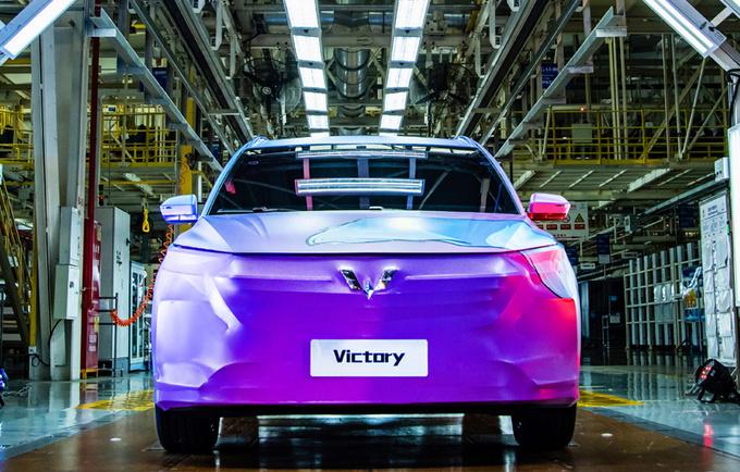 五菱首款新标车型7月预售 定位MPV 全新外观设计-图3