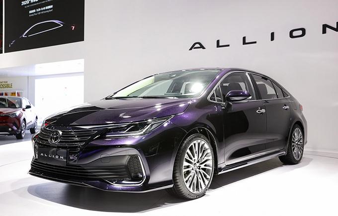 一汽丰田ALLION定名亚洲狮 本月底上市 尺寸超速腾-图2