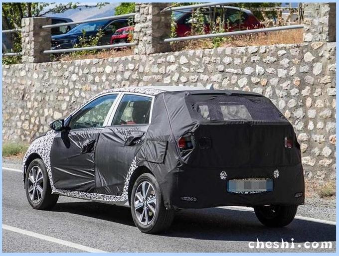 現代全新i10實車曝光 外觀升級/動力超Smart
