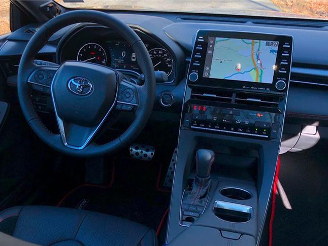 丰田亚洲龙TRD版最新实拍 将搭载V6引擎-图5