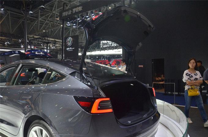 像苹果造的车 特斯拉Model3亮相重庆车展-图8