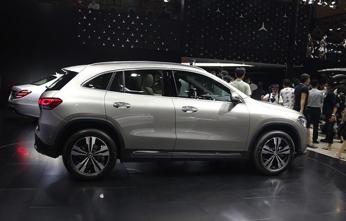 2020粤港澳车展实拍更大空间的奔驰国产全新GLA-图2