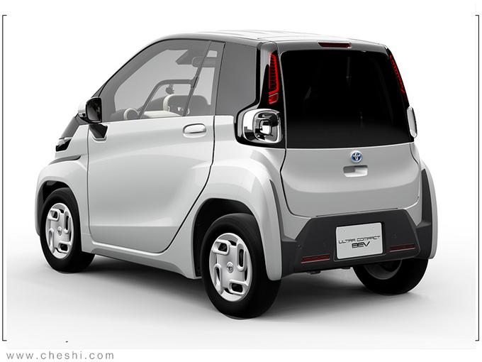 丰田全新超小型EV曝光 比Smart还小/续航100公里-图2