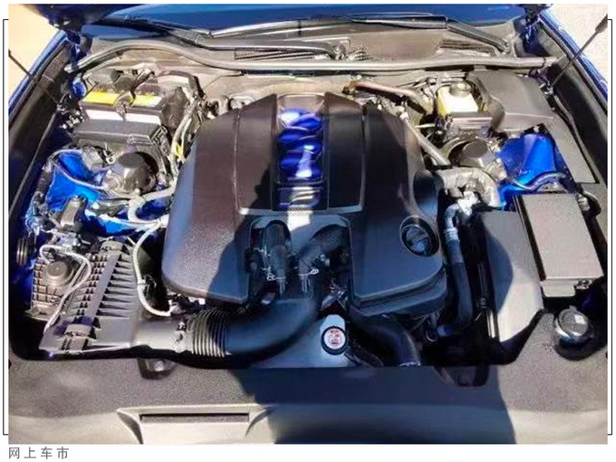雷克萨斯大号ES实拍搭5.0L V8/内配赛车座椅-图9