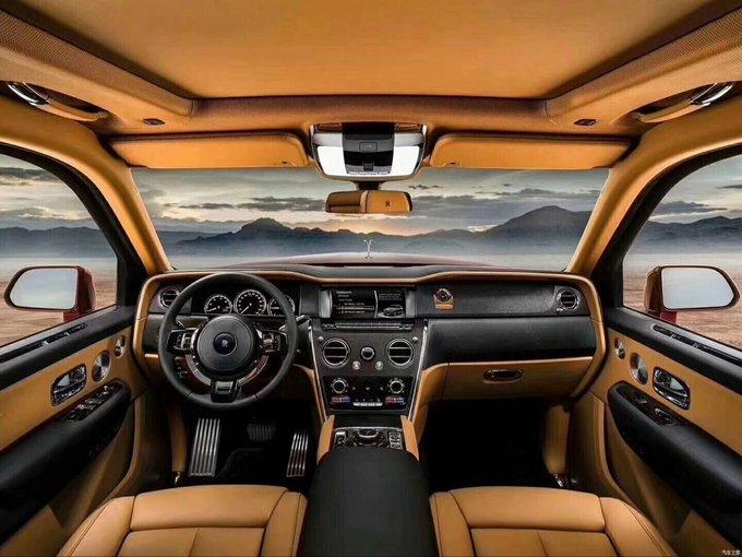 劳斯莱斯库里南SUV 全国第一批定金优先-图9