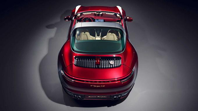 保时捷特别版911 Targa 限量992台/搭配纪念腕表-图5