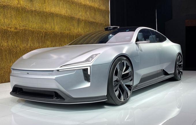 2020北京车展前瞻极星Precept概念车抢先看-图1