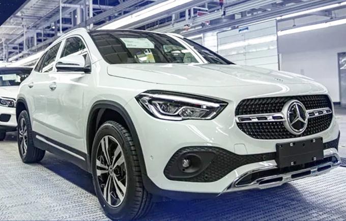 奔驰全新GLA投产下线 8月份上市 26万元起售-图2