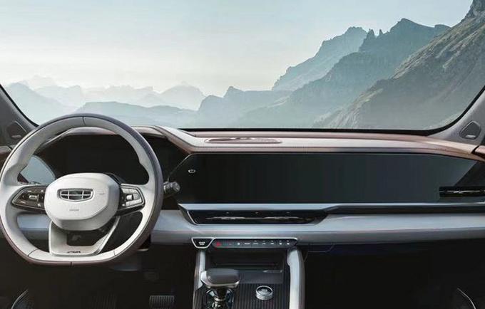 吉利星越L全系搭载2.0T发动机 4月份上海车展发布-图5