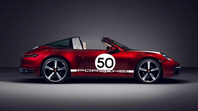 保时捷特别版911 Targa 限量992台/搭配纪念腕表-图3