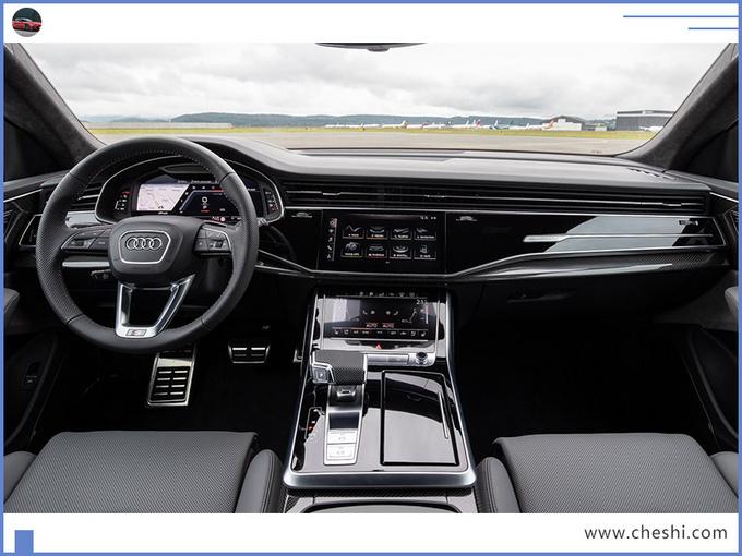 奥迪Q8 轿跑SUV高性能版 搭保时捷引擎11月亮相-图7
