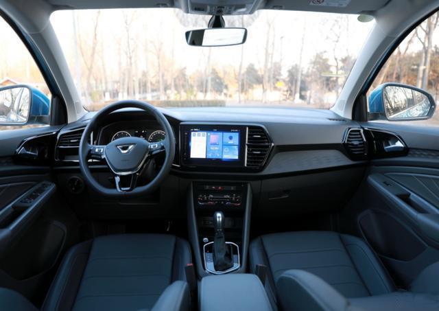 捷达VS7售10.68万起,全系标配无线充电 定速巡航-图8