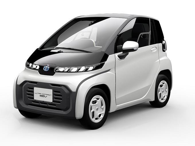 丰田全新超小型EV曝光 比Smart还小/续航100公里-图1