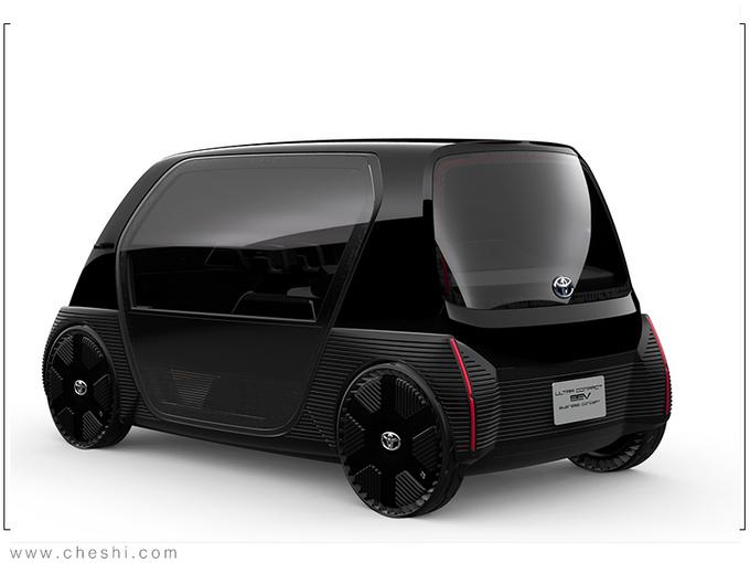 丰田全新超小型EV曝光 比Smart还小/续航100公里-图4