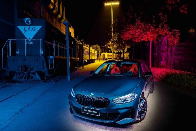 万圣节如何变装?BMW 1系M运动曜夜版给你答案!-图2