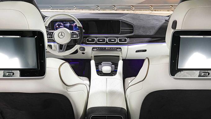 一切向迈巴赫看齐 德国改装厂推出改装版奔驰GLE-图6