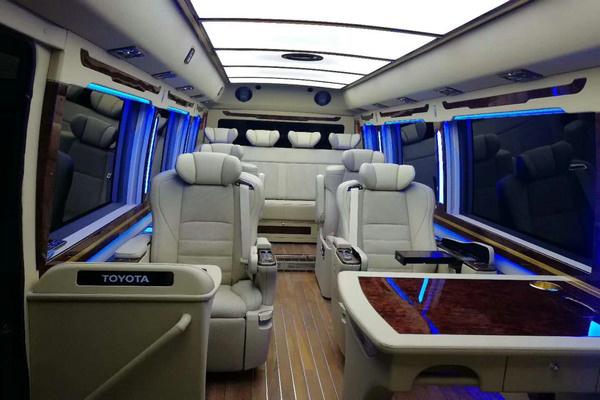 丰田考斯特15座客车新优惠 选装真皮座椅-图10