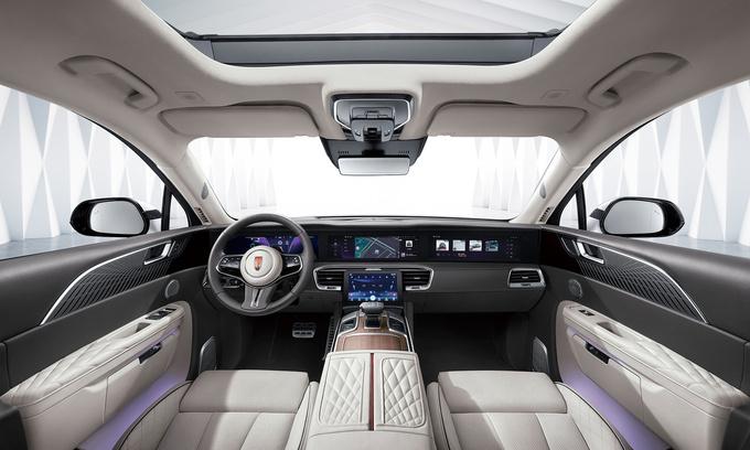 红旗E-HS9旗舰纯电SUV上市 售50.98-72.98万元-图7