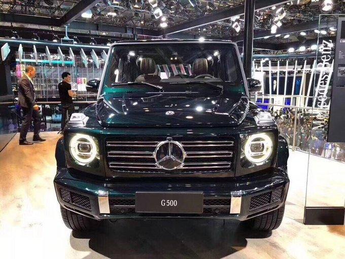 2019款奔驰G500新车上市 揭秘超凡越野王-图2