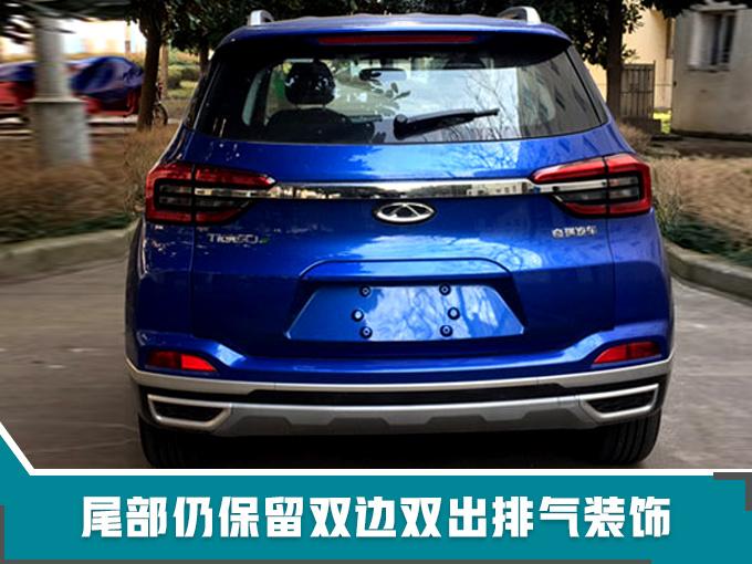 奇瑞全新纯电动SUV实拍 续航400km/竞争比亚迪宋