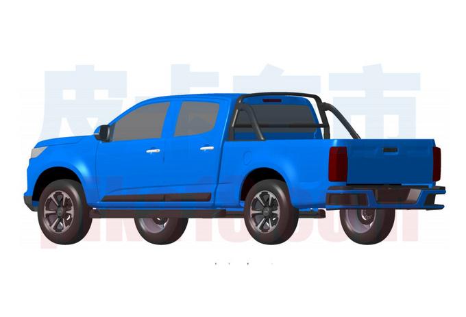 庆铃全新皮卡曝光 或搭3.0T动力 与这款车很相似-图4