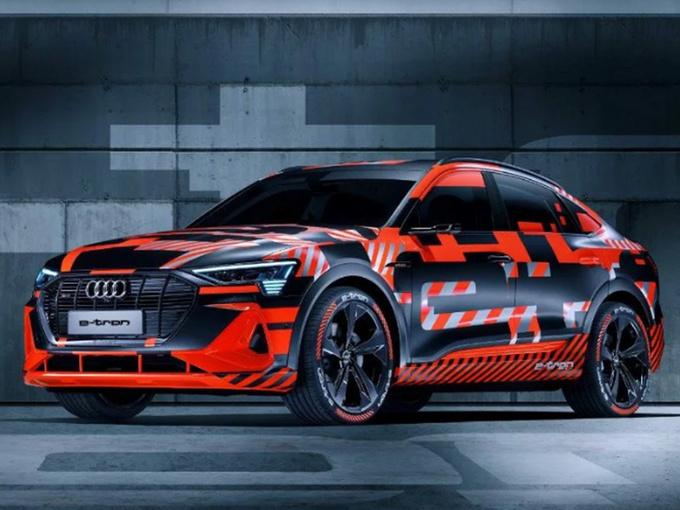 奥迪全新纯电SUV运动版 动力大幅提升11月首发-图1