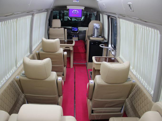 丰田考斯特高端航空座椅 一把手专车专用-图6