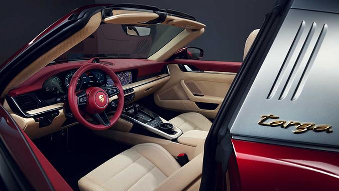 保时捷特别版911 Targa 限量992台/搭配纪念腕表-图6