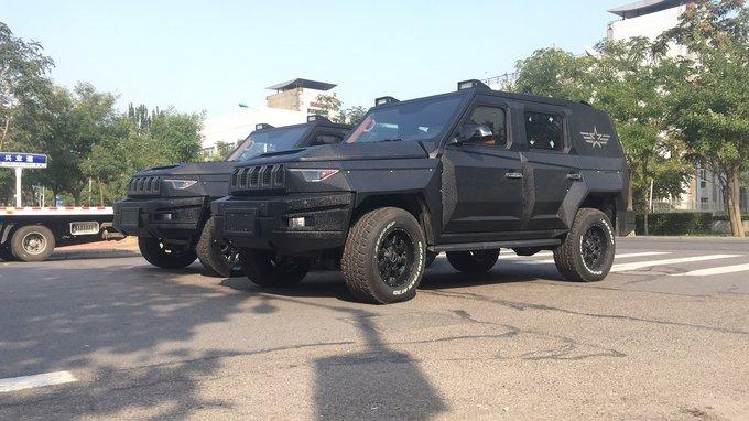 北汽bj80捍卫者防爆车 全民装甲独家销售