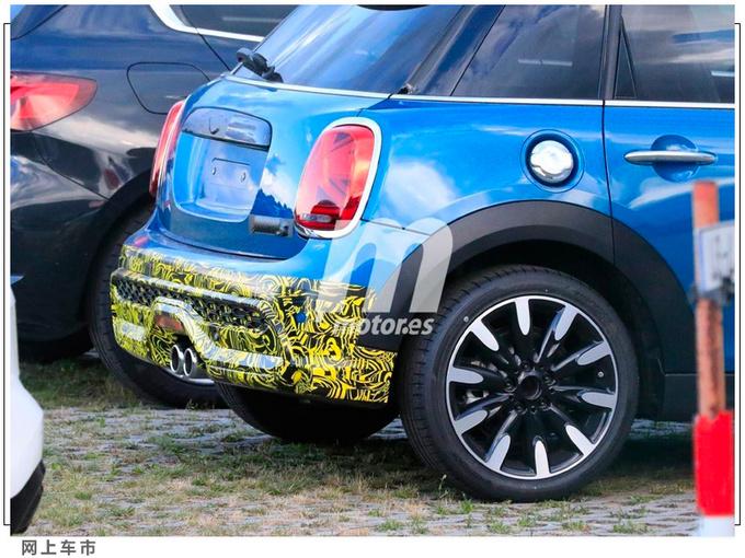 新款MINI 5 Doors五门版搭插混引擎/内饰配置升级-图4